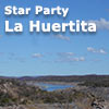 Star Party La Huertita