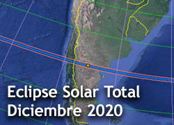 Eclipse Total de Sol Argentina 2020